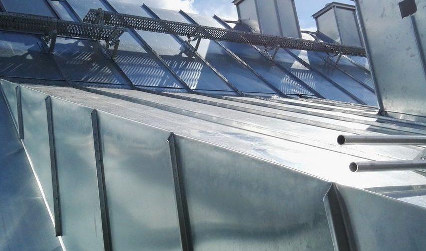Dach na rąbek stojący
