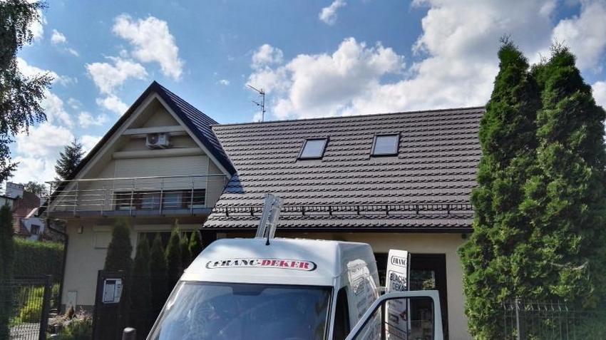 Wymiana pokrycia dachowego i ocieplenia