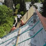 blacha tytan-cynk - pokrycie dachowe