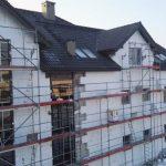 pokrycie dachowe na budynku usługowym