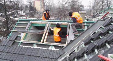 okna dachowmontaż okien dachowych Veluxe Velux