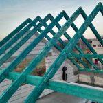 pokrycie dachowe na budynku usługowym w Niepołomicach