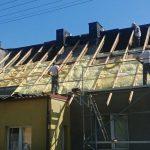 Wymiana pokrycia dachu na blachę aluminiową w Myślenicach