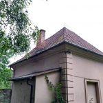 Wymiana pokrycia dachowego na zabytkowej stróżówce Balice