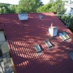 Wymiana pokrycia dachowego i montaż okien dachowych