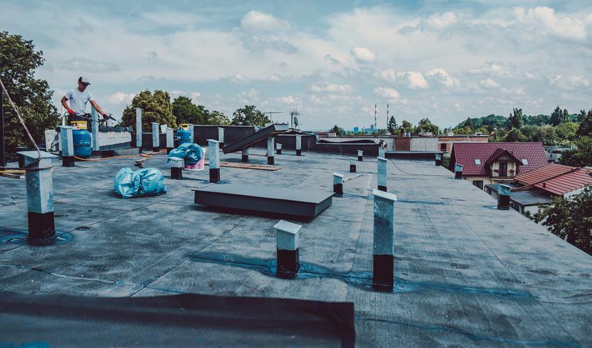 Dach z papy Kraków